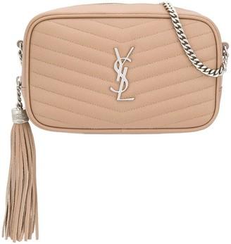 Saint Laurent Lou quilted-effect crossbody bag