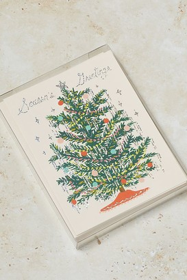 Rifle Paper Co. Set of 8 Christmas Tree Cards