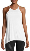 Alo Yoga Arc Racerback Athletic Tank, White