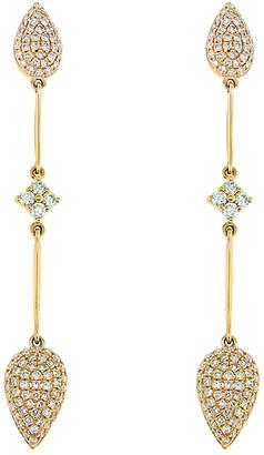 Diana M Fine Jewelry 14K 0.70 Ct. Tw. Diamond Earrings