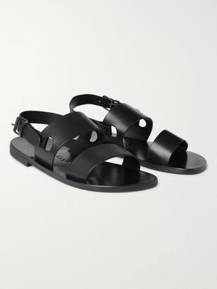 Álvaro González Alexander Leather Sandals