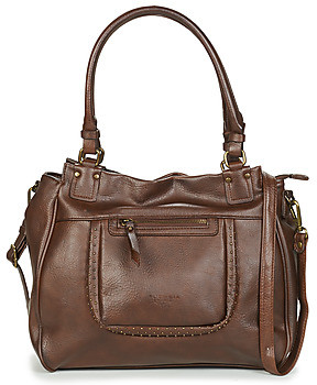Fuchsia F9897 women's Shoulder Bag in Brown