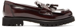 Church's Catrina Tassel Leather Loafers - Womens - Burgundy