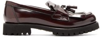 Church's Catrina Tassel Leather Loafers - Womens - Burgundy