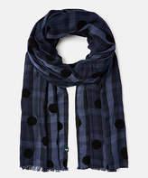 Joules Women's Accent Scarves - Blue Plaid Corin Scarf - Women