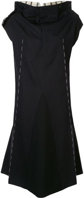 Maison Margiela Outline panelled midi dress