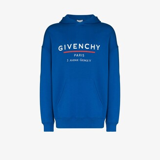 Givenchy Address logo print hoodie