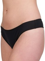 Candies Juniors' Candie's Micro Piped Thong Panty