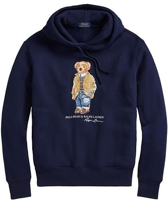 Polo Ralph Lauren Magic Fleece Bear Graphic Hoodie