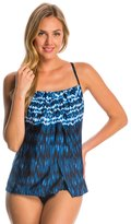 Miraclesuit IndigoGo Jubilee Soft Cup Tankini Top - 8137956