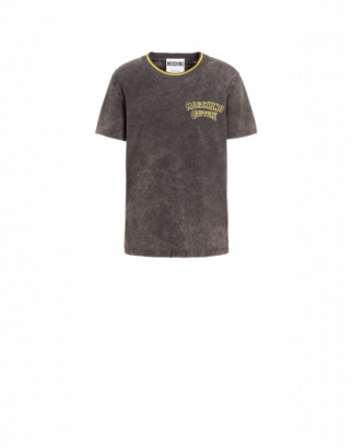 Moschino Couture Jersey T-shirt Man Grey Size 44 It - (34 Us)