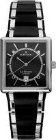 Edox Men's 82005 357N NIN Les Bemonts Rectangular Automatic Watch