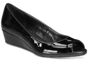 Bandolino Candra Women's Peep Toe Dress Wedge Women's Shoes