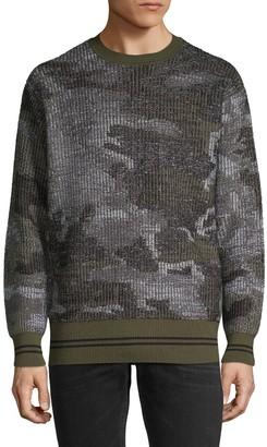 Diesel Black Gold Reversible Wool-Blend Sweatshirt