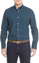 Nordstrom Classic Fit Smartcare(TM) Gingham Sport Shirt (Big)