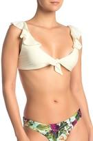 Pilyq Ruffle Tie Bikini Top
