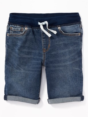 Old Navy Karate Rib-Knit Waist Jean Shorts for Boys