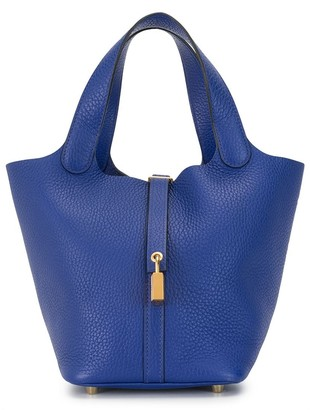 Hermes 2017 pre-owned Picotin Lock PM tote