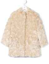 Simonetta fur effect coat