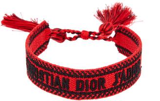 Christian Dior J'adior Oblique Cotton Bracelet