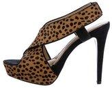 Diane von Furstenberg Ponyhair Cheetah Print Pumps