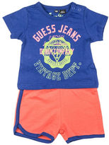Guess Logo Tee and Shorts Set