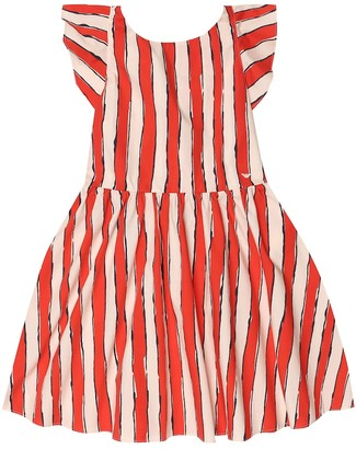 Emporio Armani Kids Striped cotton dress