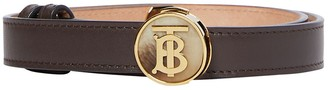 Burberry 20mm Tb Round Leather Belt