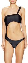 Vix Paula Hermanny Solid Daphne One Piece Swimsuit