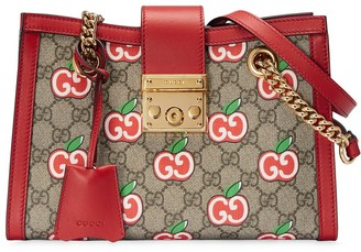 Gucci small Chinese Valentine's Day Padlock GG shoulder bag