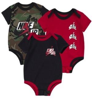 Jordan Baby Boys Bodysuit 3-Pack