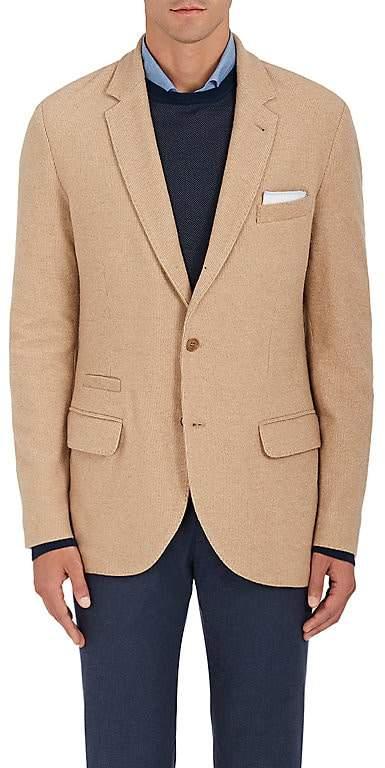 Loro Piana Men's Camel-Hair Three-Button Sportcoat