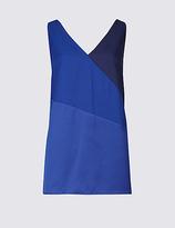 Limited Edition Colour Block V-Neck Vest Top