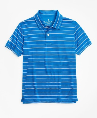 Brooks Brothers Boys Performance Series Stripe Polo Shirt