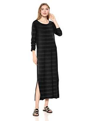 Daily Ritual Jersey Long-Sleeve Maxi Dress Casual,(EU L - XL)