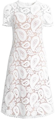 MICHAEL Michael Kors Paisley Crochet Dress