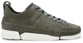 Clarks Women's Trigenic Flex Shoes Charcoal Suede