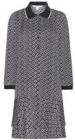 Diane von Furstenberg Samuella Printed Silk Dress