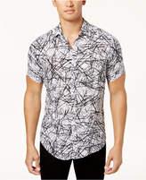 INC International Concepts I.n.c. Men's Scratch-Print Shirt, Created for Macy's