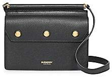 Burberry Women's Mini Title Leather Crossbody Bag