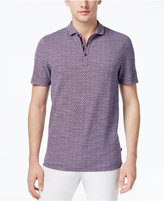 Michael Kors Men's Textured Pima Cotton Polo