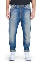 Nudie Jeans Men's Brute Knut Skinny Slouchy Fit Jeans