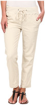 Jag Jeans Petal Relaxed Slim Fit Capri in Gatsby Linen