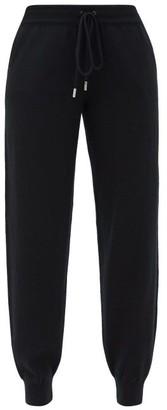 Johnstons of Elgin Johnston's Of Elgin - Josephine Cashmere Track Pants - Black