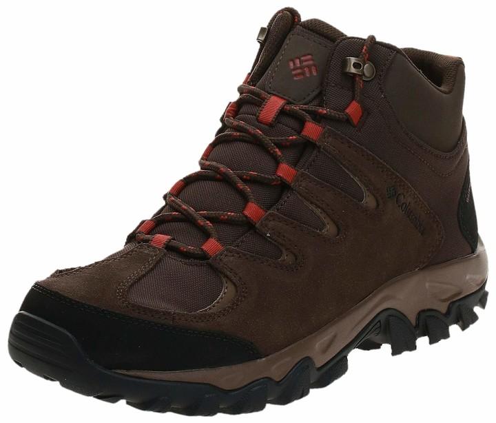 Columbia Men's Buxton Peak MID Waterproof Hiking Shoe