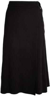 Diane von Furstenberg Hilary Wrap Midi Skirt