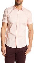 Parke & Ronen Woven Short Sleeve Slim Fit Shirt