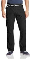 Southpole Men's Basic Cargo Long Pant with Color-Matching Belt
