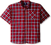 Rocawear Men's Big and Tall Plaid Short Sleeve Woven Pattern 2