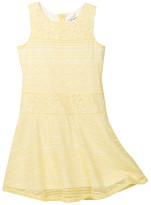 Blush by Us Angels Sleeveless Drop Waist Lace Dress (Big Girls)